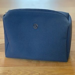 Canvas Lululemon Make-Up Bag